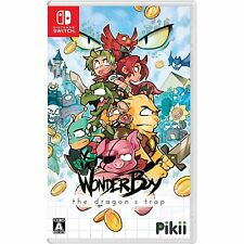 Pikii Wonder Boy the Dragon's Trap Nintendo Switch Japanese Import Region