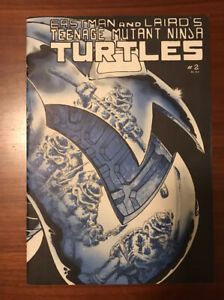 Teenage Mutant Ninja Turtles #2 2nd Print! High grade!
