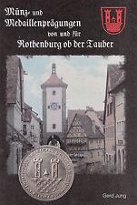 LANZ Gerd Jung Münzen Medaillen Prägung Rothenburg ob der Tauber ~TH4