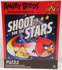 "Jigsaw Puzzle ANGRY BIRDS - SHOOT FOR THE STARS 24 pieces 9x10"" S3"