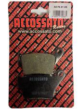 Pastiglie Accossato Posteriori Organica Aprilia Pegaso Strada 650 2005