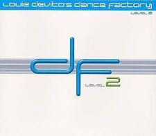Dance Factory Level, Vol. 2 by Louie DeVito (CD, Jun-2003, DV Music) NEW