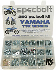250pc Bolt Kit Yamaha TTR 50 80 90 110 125 225 250 plastic body frame engine PW