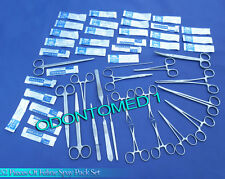 52 PC FELINE SPAY PACK VETERINARY SURGICAL INSTRUMENTS DS-1094