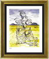 "Salvador Dali Signed/Hand-Numbrd Ltd Ed ""Mother & Child "" Litho Print (unframed)"