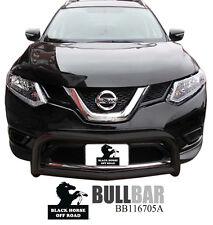 Black Horse Black Bull Bar Brush Bumper Guard [Fit 2014-2019 Nissan Rogue ]