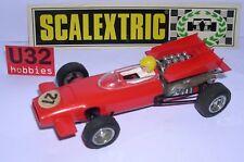 Scalextric exin C-43 Mclaren F1 #27 Rouge Tout Original Excellent