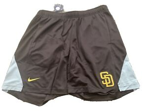 Nike San Diego Padres MLB Franchise Performance Shorts Size Large N256-97NZ