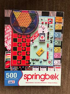Springbok Board Games 500-piece Puzzle All pieces included