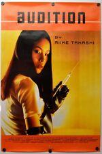 Audition - original movie poster - 1999 - Takashi Miike , RARE