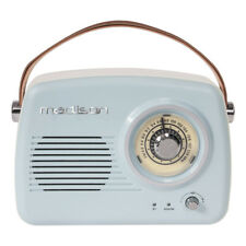 Madison Portable Nostalgia Retro Radio Bluetooth FM Battery 30W