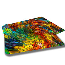 Stained Stain Glass Colorful Designs Indoor Door Mat Rug TWO RUGS