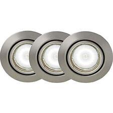 Lampes encastrés gris en acier pour la maison
