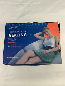 New Electric Heating Pad for Neck Shoulder Back, For Pain Relief, Fast Heating