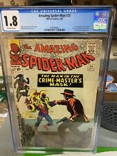 AMAZING SPIDER-MAN  #26 CGC 1.8 Key..The Man In The CRIME-MASTERS Mask!