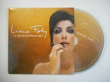 LIANE FOLY : LA VIE NE M'APPREND RIEN [CD SINGLE PORT GRATUIT]