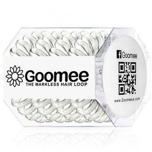 GOOMEE MARKLESS HAIR LOOP HAIR BANDS TIES 4 PACK - YOU CHOOSE COLOR
