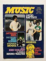 MUSIC 41-1982 LOREDANA BERTE' - LUCIO BATTISTI - MOGOL - NEIL YOUNG - GENESIS