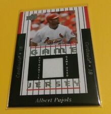 New listing Albert Pujols 2008 Upperdeck Series 1 Game Jersey Game Used Relic Cardinals
