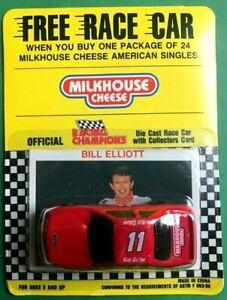 1992 BILL ELLIOTT #11 Milkhouse Cheese Racing Champions car NASCAR Diecast 1/64