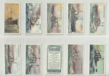 More details for complete set 25 wd&ho wills cigarette cards  the worlds dreadnoughts