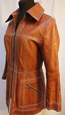 Vintage 1970'S Reversible Suede Leather Jacket-Leathercraft Process America-S
