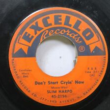 Hear! R&b Rocker 45 Slim Harpo - Don'T Start Cryin' ahora / Rainin' In My Heart