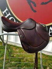 Brown Monoflap Close Contact/Jump Saddle, 17� Mark Todd Charisma W, New
