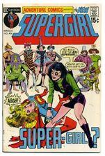 ADVENTURE COMICS  #404 ~ SUPERGIRL High Grade 1971 GEM NM 9.2+ CGC it! White pgs
