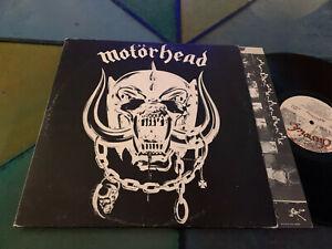 LP  UK 1977  Motörhead – Motörhead Etichetta: Chiswick Records – WIK 2