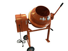 3 1/2  CUBIC PORTABLE SOLD STEEL STUCCO MORTAR CEMENT MIXER MIX STUCO MORTAC