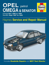 Haynes Workshop Manual OPEL OMEGA OPEL Senator Essence 1986-1994 Service De Réparation