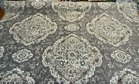Eastview Steel Damask Swavelle Chenille Upholstery Fabric By The Yard