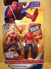 "Marvel Legends 6"" -  Spider-man Wrestling Gear removable movie transforming"