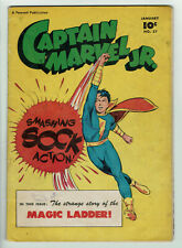 Captain Marvel Jr #57 (Fawcett, 1948) CLASSIC MAC RABOY COVER! A Golden Age Gem!