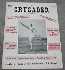VINTAGE WESTBURY YOUNG MEN'S CLUB MAGAZINE PREMIERE ISSUE 1957 BOXING