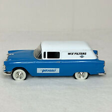 Liberty Classics Bank WIX FILTERS 1955 Chevy Sedan Delivery Car Die Cast 1:25