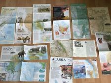 12 cartes ETATS UNIS USA National Geographic (in English)