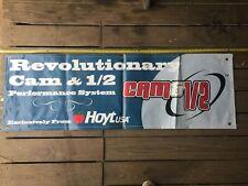 Vintage Hoyt Usa Archery Banner - Revolutionary Cam and 1/2 - 60 X 20