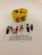 Guatemalan Worry Dolls with 100% Helping Kids in Guatemal