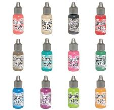 RELEASE 2- Ranger Tim Holtz DISTRESS OXIDE Ink Reinkers- ALL 12 Colors- IN STOCK