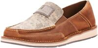 Ariat 245854 Mens Cruiser Casual Slip-on Shoes Brown/Sage Camo Size 9.5 D Medium