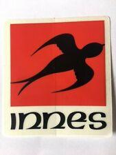 Innes Sticker Vintage Skateboard Sticker Rare Skateboarding Gear Matt Hensley