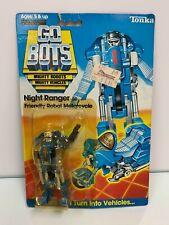 Tonka GOBOTS 1985 NIGHT RANGER (030) Friendly Robot Motorcycle Brand New