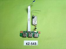 Medion P6611 P6612 Usb Platine Board #KZ-543