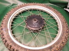 VMX * EVO * Suzuki RM 250*1980 * Wheel-RIM HUB (int. DZE) RUOTA-Mozzo-Cerchio-Ruota Anteriore