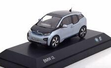 BMW I3 2014 SILVER BLACK I-SCALE 80422320102 1/43 ARGENT NOIR SILBER SCHWARZ