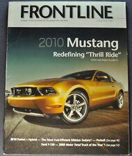 2010 Ford Frontline Brochure Mustang GT500 F-150 SVT Raptor Pickup Nice Original
