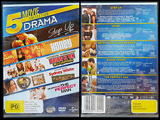 Step Up / Honey / Bring It On  All Or Nothing / Sydney White / Perfect Man DVD