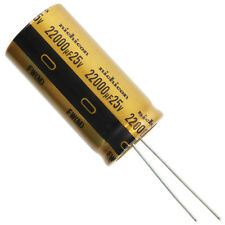 Nichicon UCY 100uF 420V 105/'C Long Life 12000h  capacitors 16x41,5 2 pcs